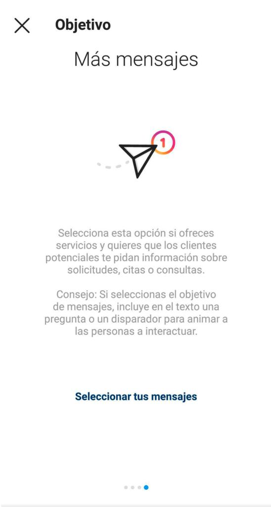 Promo para stories Instagram - mensajes