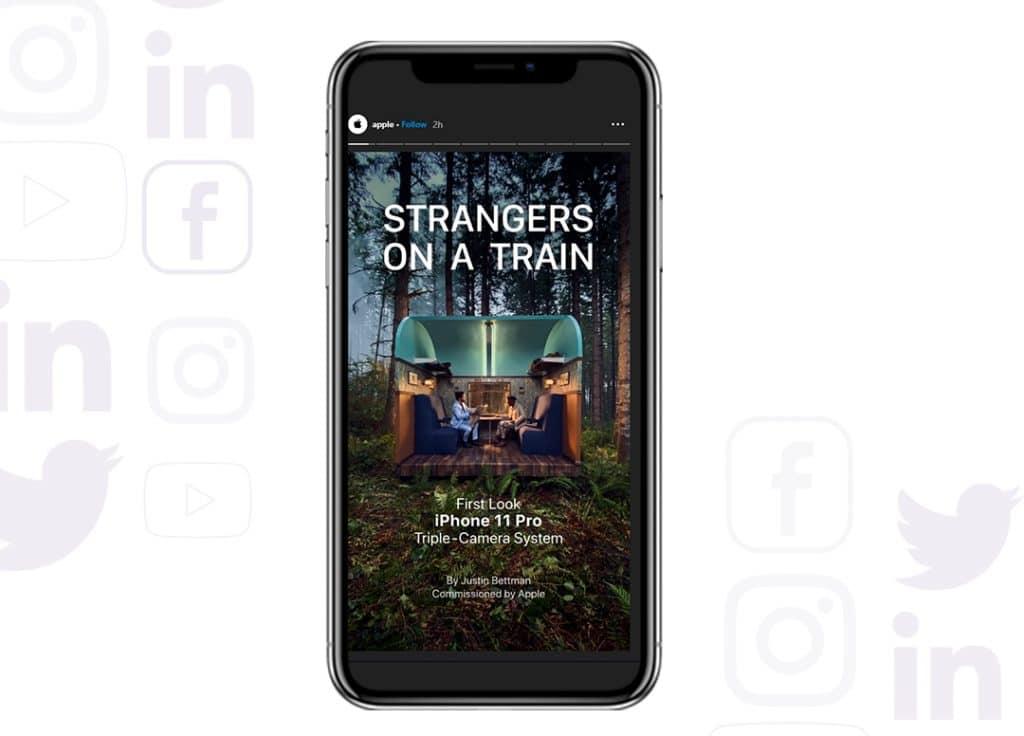 Instagram Stories - crea serie semanalmente