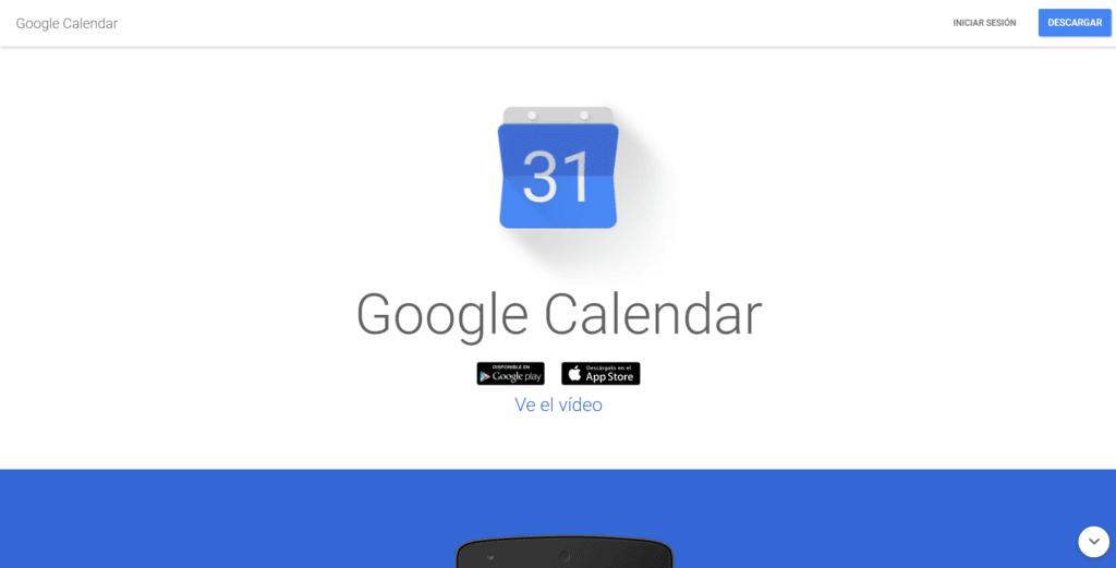 Google Calendar - organizar tu tiempo y gestionar las tareas